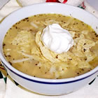 white chili with ground turkey picture