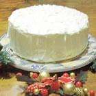 white chocolate cake picture