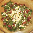 Wilted Spinach Salad picture