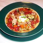 Yucatan-Style Turkey and Vegetable Soup picture