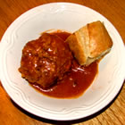 zesty porcupine meatballs picture