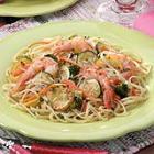 zippy shrimp linguine picture