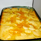 american girl's peach cobbler picture