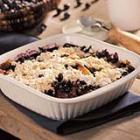 apple blueberry cobbler picture