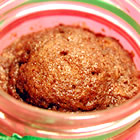 apple cake in a jar picture
