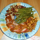 apple rosemary pork tenderloin picture