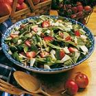apple-strawberry spinach salad picture