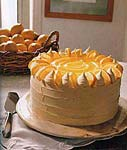 lemon curd layer cake picture