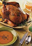 roast chicken with rosemary-orange butter picture