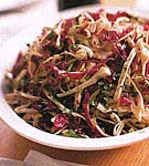 cabbage salad with mustard vinaigrette picture