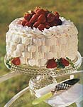 strawberry basket cake picture