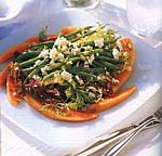 green bean salad with apricot vinaigrette picture