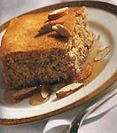 lemon-honey almond cake picture