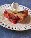 rhubarb raspberry pie picture