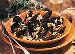 mussels with pernod and cream picture