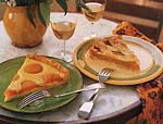 apple galette with orange picture
