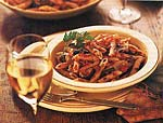pasta with roasted provencal vegetable sauce picture