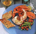 grilled lobsters with southeast asian dipping sauce picture
