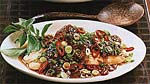 broiled red snapper with tamarind sauce picture
