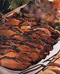 barbecued texas beef brisket picture