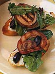 grilled chicken drummettes with ancho-cherry barbecue sauce picture
