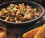 cajun potato salad with andouille sausage picture