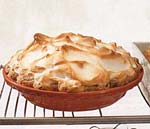 lemon meringue pie with pecan crust picture