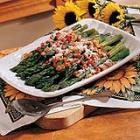 asparagus with pimientos picture