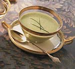 green pea vichyssoise picture