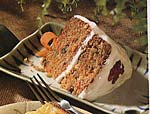 carrot cake with maple-cream cheese icing picture