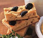 rosemary focaccia with olives picture