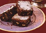 mocha brownies picture