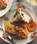 roasted salmon with orange-herb sauce picture
