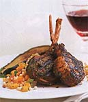 grilled charmoula lamb chops picture