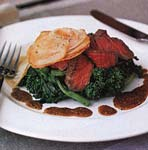 filet mignon with mustard sauce picture