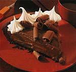 black-bottom chocolate pie picture