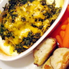 aunt carol s spinach and fish bake picture