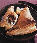 dried cherry and golden raisin turnovers picture