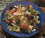 crab salad and buttermilk caesar dressing picture