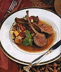 spice-crusted rack of lamb picture