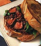texas-style steak on toast picture