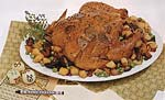 chicken with truffles, wild mushrooms and potatoes picture