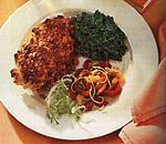 chicken breasts with sun-dried tomato and garlic crust picture