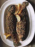 hazelnut-crusted trout picture