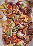 gingerbread cookies and citrus sugar cookies picture