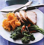 cornmeal-and-chile-cumin coated pork loin picture