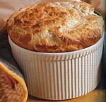 gruyere and parmesan cheese souffle picture