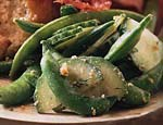 sugar snap pea and cucumber salad picture