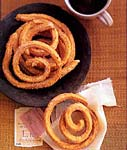 churros (deep fried dough spirals) picture
