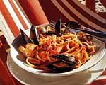 linguine with shellfish sauce picture